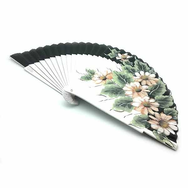 Black and white fan