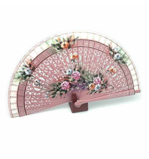 Pink fan