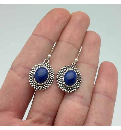 Lapislazuli earrings