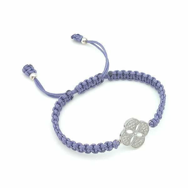 Flower openwork bracelet