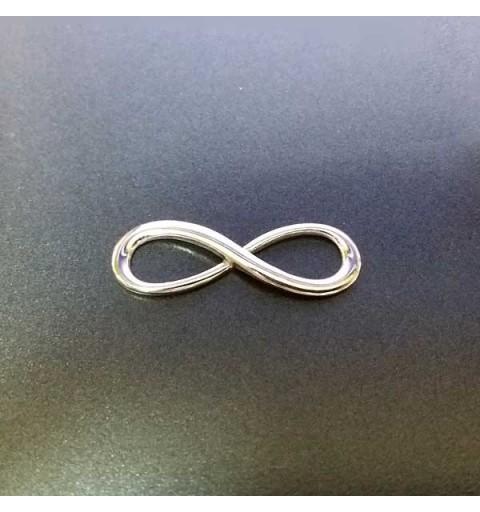 Infinity symbol silver bracelet