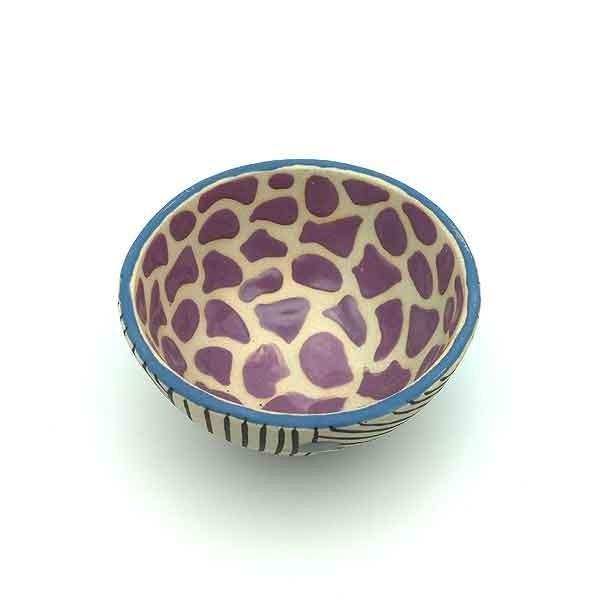 Violet breakfast bowl
