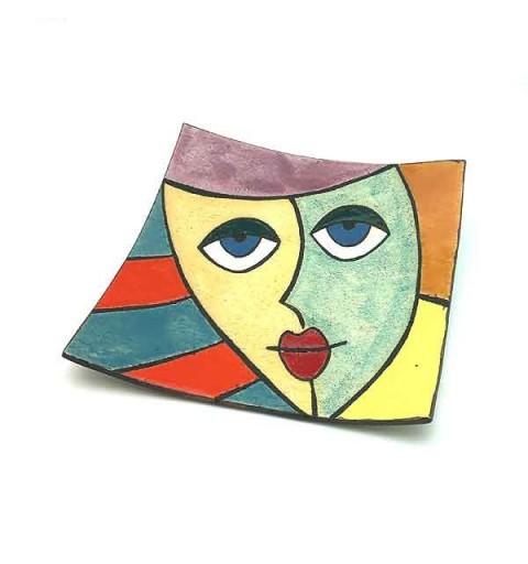Decorative Dish Faces