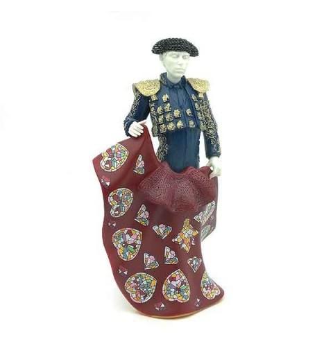 Blue Bullfighter