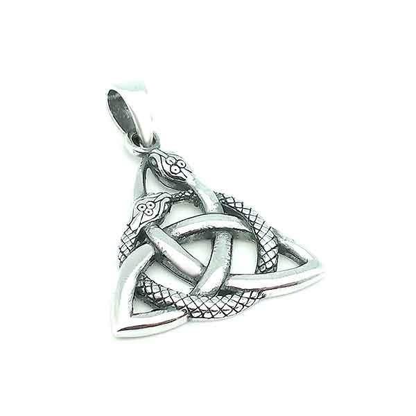 Snake triqueta pendant