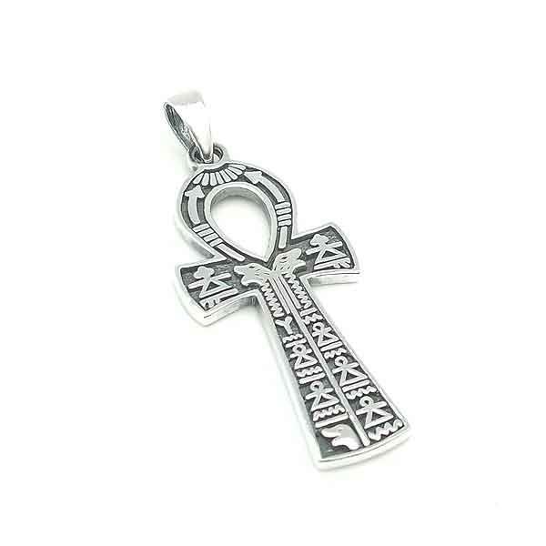 Colgante cruz de anj