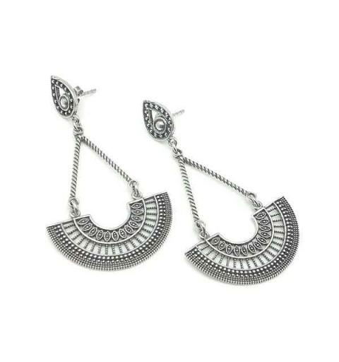 Balinese long earrings