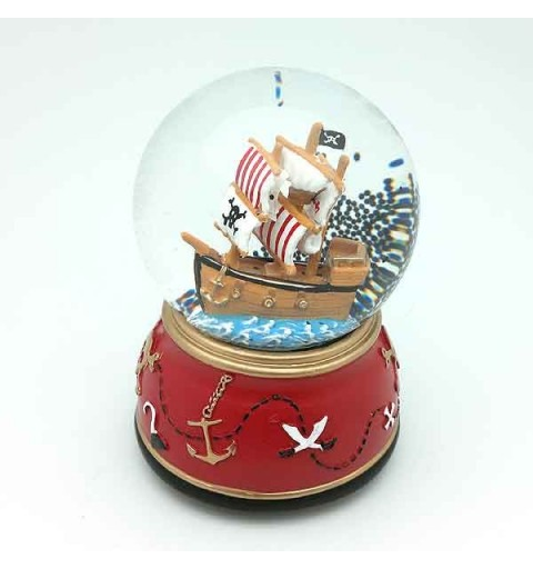 Pirate ship snowball