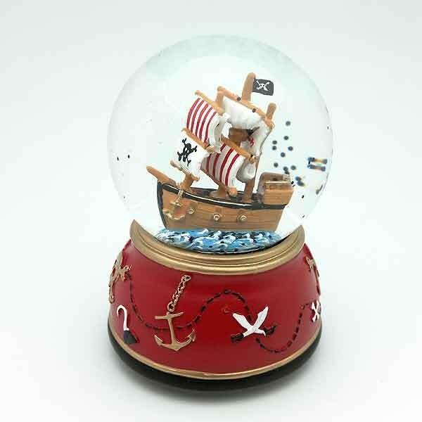 Pirate ship snowball