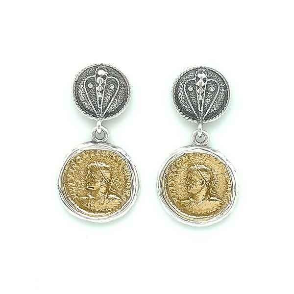 Coins earrings