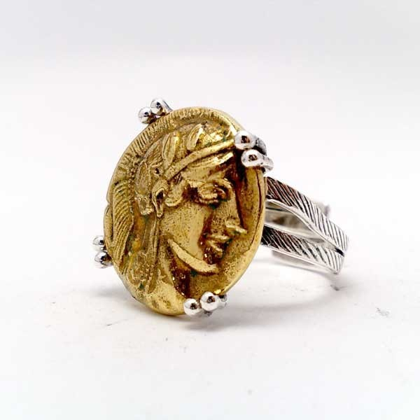 Anillo con Moneda Romana