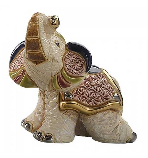 Elefante indú blanco.