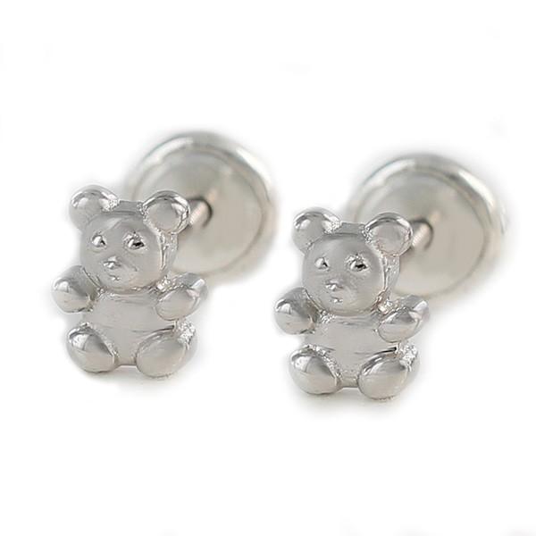 Baby teddy earrings