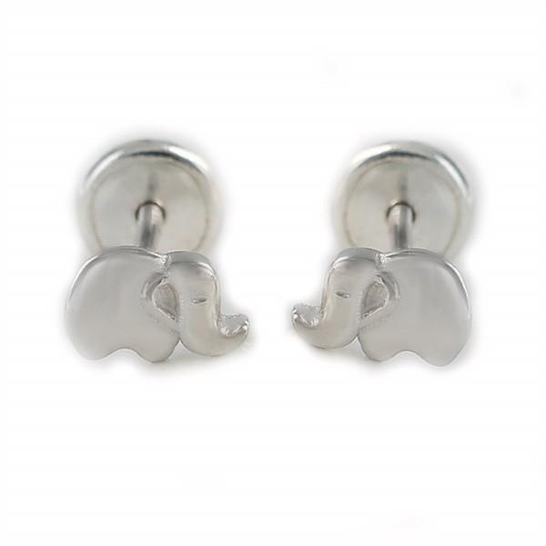 Baby earrings in sterling silver