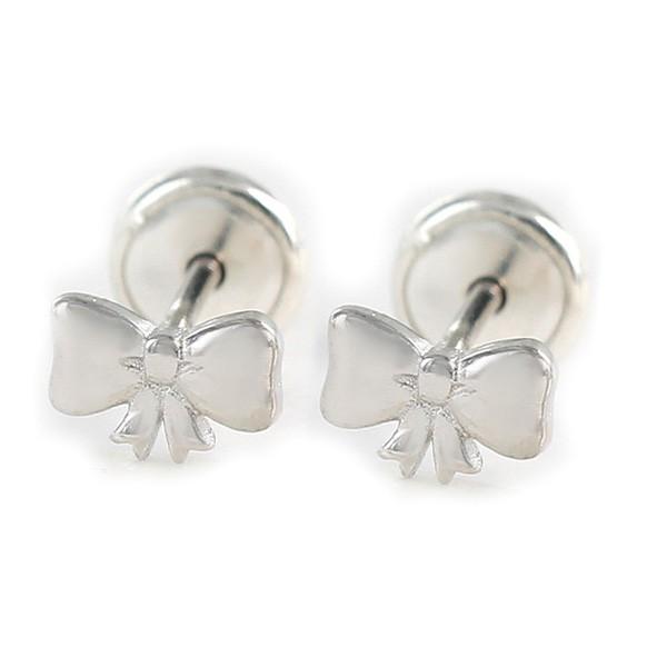 Baby tie earrings