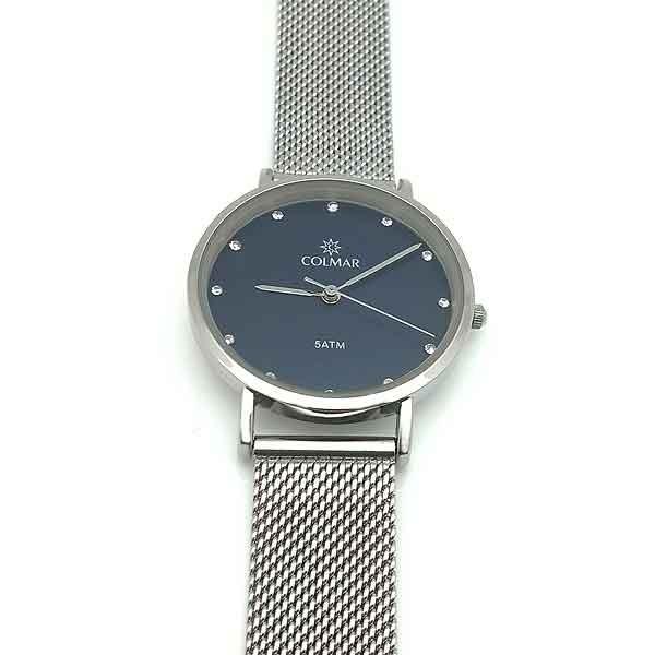 Reloj con malla veneciana para mujer.