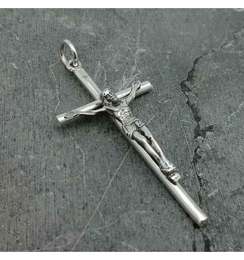 Silver crucifix