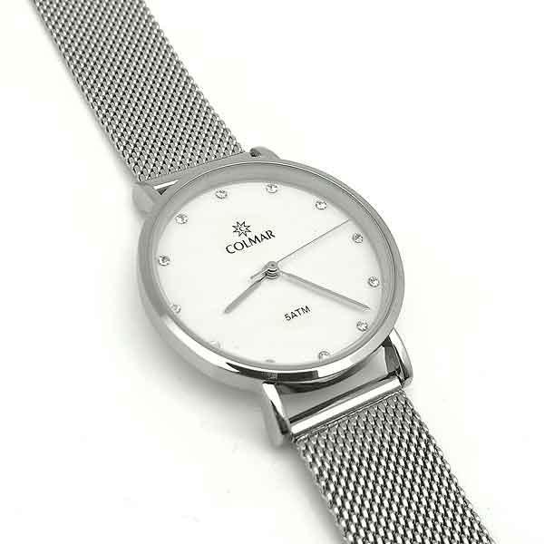 Reloj esfera blanca