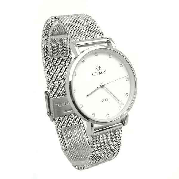 White dial watch