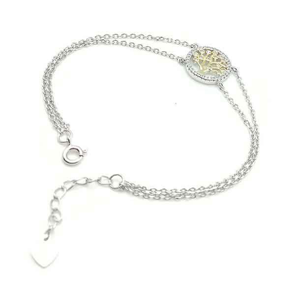 Double life tree bracelet