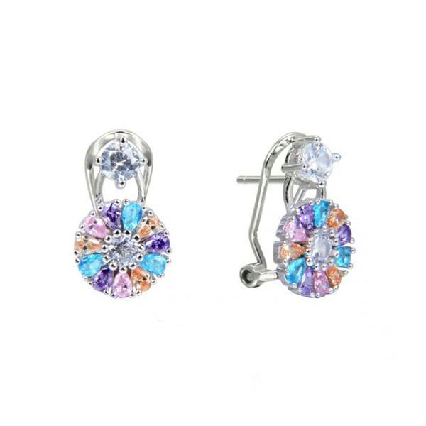 Omega closure earring
