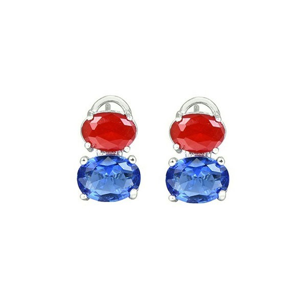 Two zirconias earring