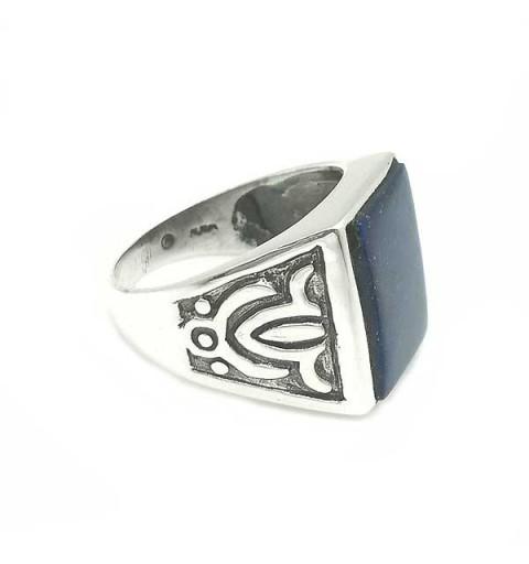 Lapislazuli seal ring