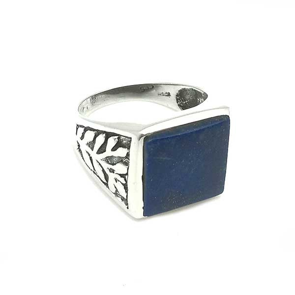 Seal ring with lapislazuli