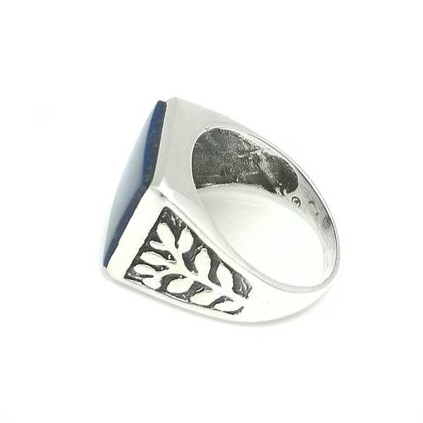 Seal ring with lapislazuli