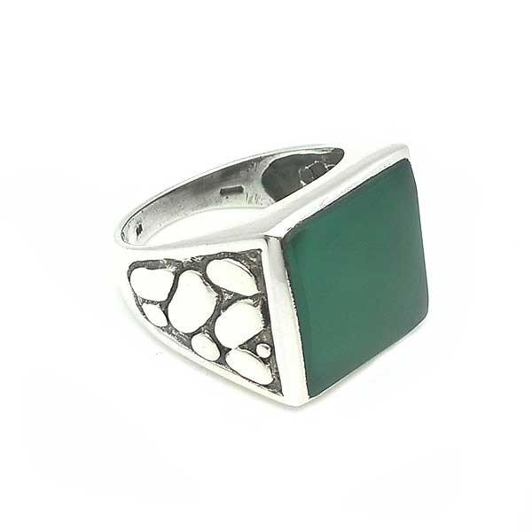 Tourmaline seal ring