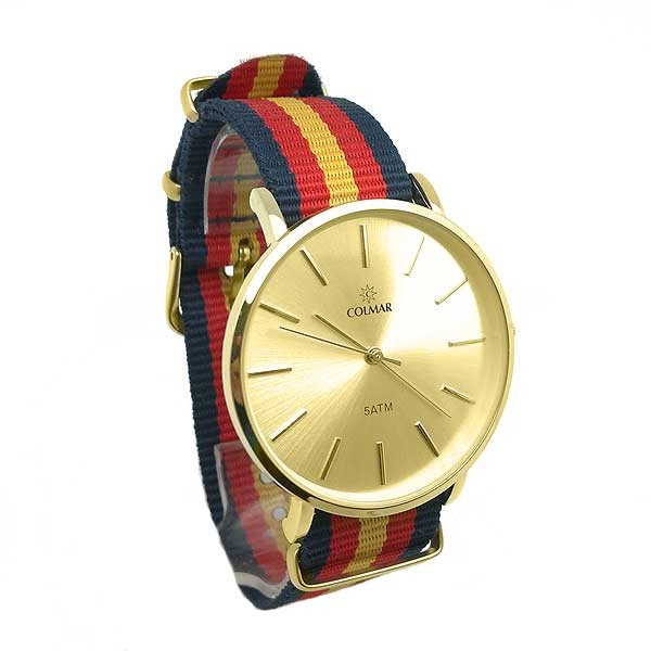 Golden Nylon watch