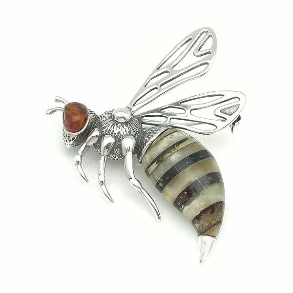 Broche abeja
