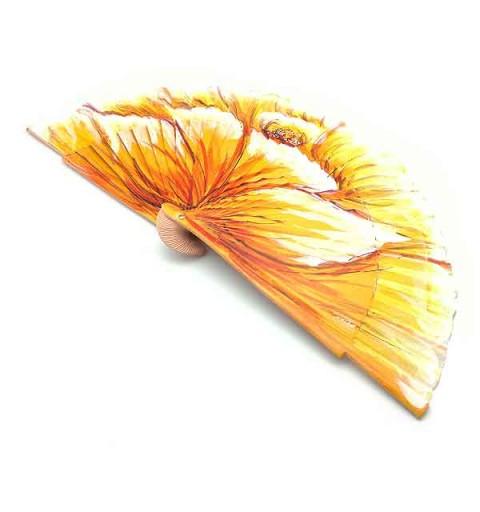 Abanico amarillo