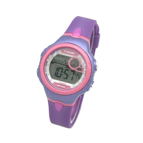 Violet digital watch women or children