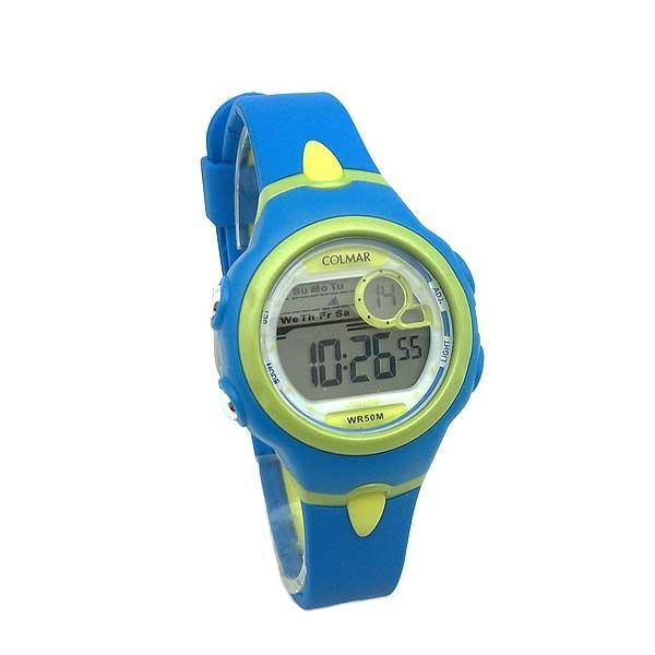 Reloj digital mujer o niños azul