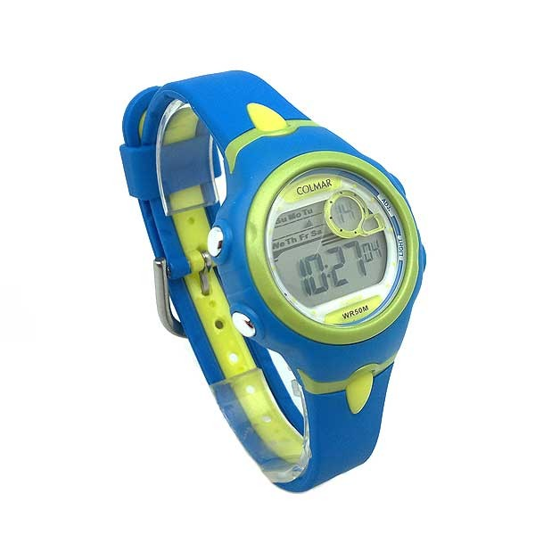 Blue Digital watch women or children
