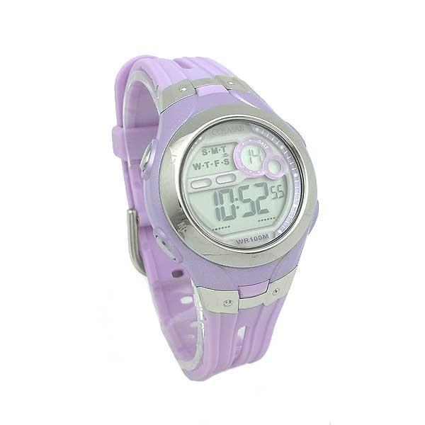Lilac Digital watch women or children