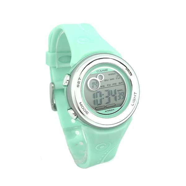 Green Digital watch women or children