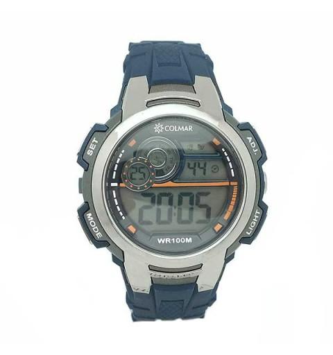 Blue Knight Digital Clock
