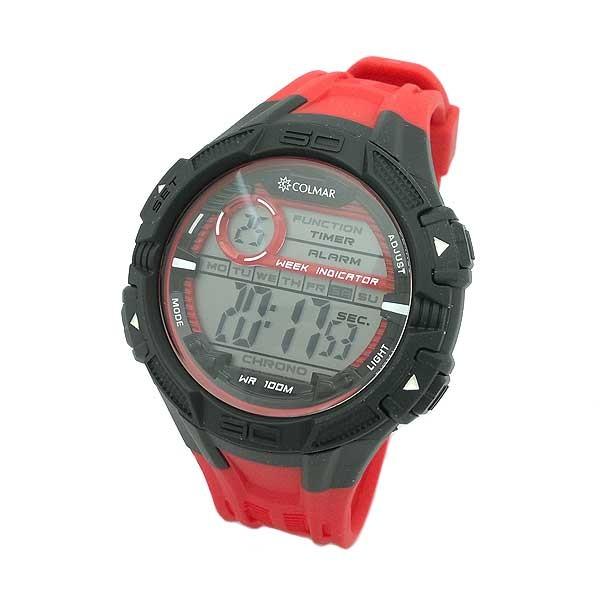 Reloj Digital Caballero rojo