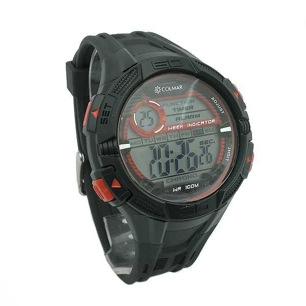 Reloj Digital Caballero negro
