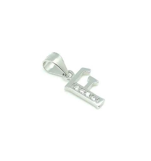 Initial pendant, letter F