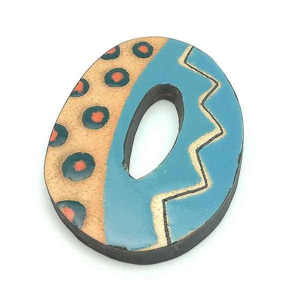 Number 0 in ceramic.