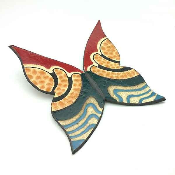 Mariposa cerámica.
