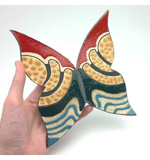 Ceramic butterfly.