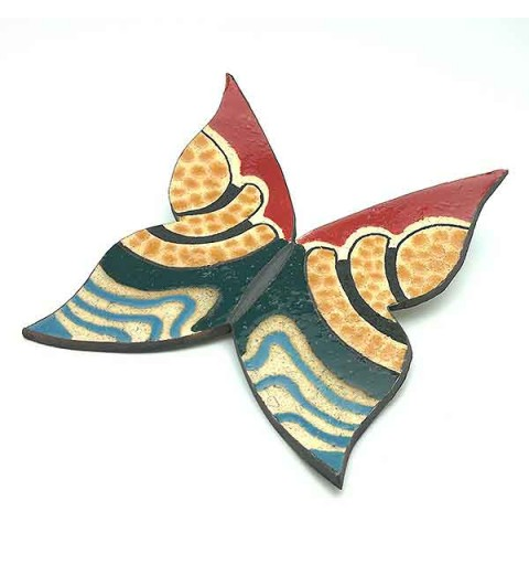 Ceramic butterfly.