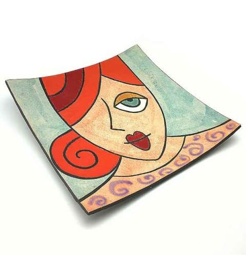 Plato chica cerámica
