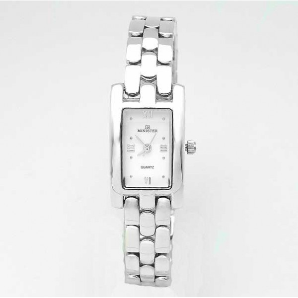 Silver lady watch