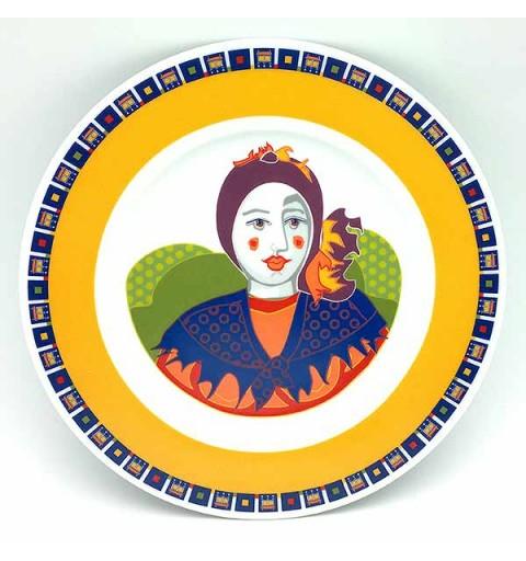 Decorative plate, Galos brand