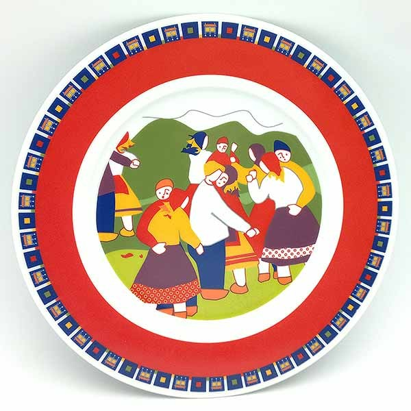 Dancing couple dish, from the Galos brand.